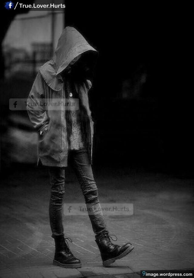 alone boy in hoodie cute sad 9 images